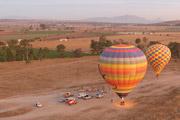 Sada y el bombón - Volar en globo aerostático