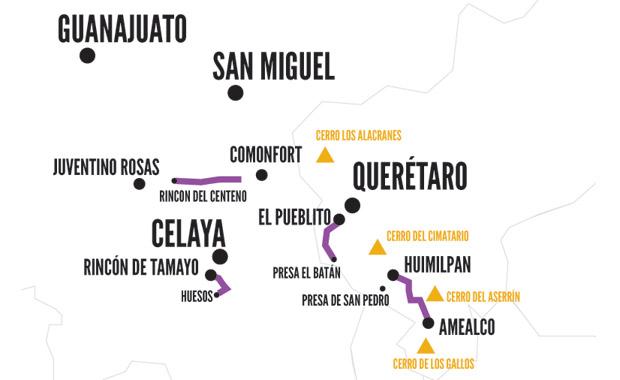 Recorridos en bicicleta de montaña por el centro de México —Sada y el bombón